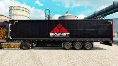 Skynet pele para reboques para Euro Truck Simulator 2