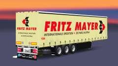 Cortina semi-reboque Schmitz Fritz Mayer para Euro Truck Simulator 2