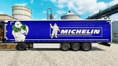 A pele na Michelin semi-reboques para Euro Truck Simulator 2