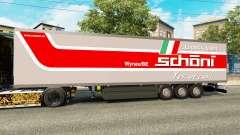 Semi-reboque-o frigorífico Schoni Logística para Euro Truck Simulator 2