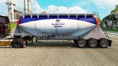 Pele Dangote Cement cimento semi-reboque para Euro Truck Simulator 2