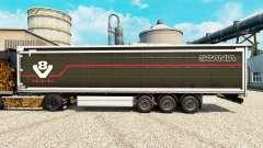 Pele Scania V8 semi para Euro Truck Simulator 2