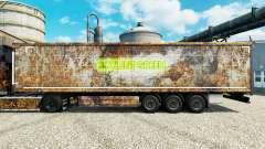 Pele Soylent Green para reboques para Euro Truck Simulator 2