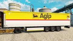 Pele Agip para reboques para Euro Truck Simulator 2