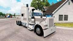Megafone de pele para o caminhão Peterbilt 389 para American Truck Simulator