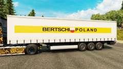 Pele Bertschi Polônia, na semi para Euro Truck Simulator 2
