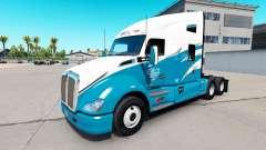 Phils de Transporte de pele para Kenworth T680 trator para American Truck Simulator