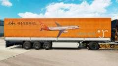 Pele Jeju Ar para reboques para Euro Truck Simulator 2