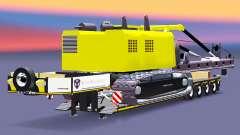 Baixa varrer com estacas de instalação para Euro Truck Simulator 2