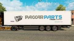 A pele da Paccar Peças para reboques para Euro Truck Simulator 2