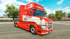 Pele S. Verbeek e ZN. para o caminhão Scania T para Euro Truck Simulator 2