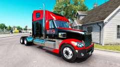 Скин Inferno Bebida Energética на Freightliner Coronado para American Truck Simulator