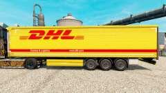 A DHL v3 pele para reboques para Euro Truck Simulator 2