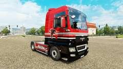 A pele da NFC Sul para o trator HOMEM para Euro Truck Simulator 2