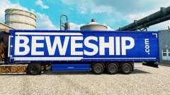 Beweship pele para reboques para Euro Truck Simulator 2