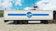 Schmidt Heilbronn pele para engate de reboque para Euro Truck Simulator 2