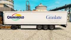 Pele Granlatte para reboques para Euro Truck Simulator 2