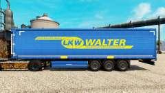 LKW WALTER pele para engate de reboque para Euro Truck Simulator 2