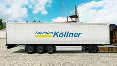 Pele Spedition Kollner na semi para Euro Truck Simulator 2