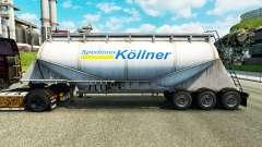 Pele Spedition Kollner cimento semi-reboque para Euro Truck Simulator 2