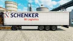 Pele Schenker Logistics para reboques para Euro Truck Simulator 2