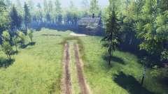Floresta fantasmagórica v2.0 para Spin Tires