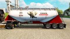 Pele PPC Ltd. cimento semi-reboque para Euro Truck Simulator 2