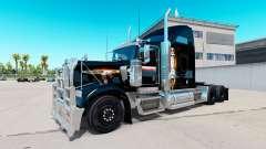 Pele Black Ops v2 no caminhão Kenworth W900 para American Truck Simulator