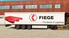 Pele Fiege em uma cortina semi-reboque para Euro Truck Simulator 2