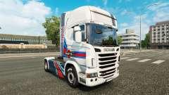 Pele Martini Rancing no tractor Scania para Euro Truck Simulator 2