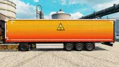 A pele Clara na semi para Euro Truck Simulator 2
