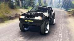VAZ-21099 camuflagem para Spin Tires