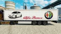Alfa Romeo pele para reboques para Euro Truck Simulator 2