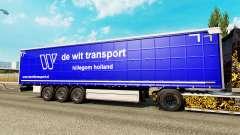 Pele De Wit Transporte de semi-reboques para Euro Truck Simulator 2