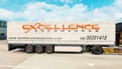 Pele Excelência Encomendas na semi para Euro Truck Simulator 2