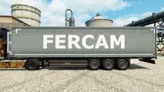 Fercam pele para reboques para Euro Truck Simulator 2