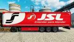 JSL pele para reboques para Euro Truck Simulator 2