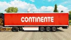 Pele Continente para reboques para Euro Truck Simulator 2