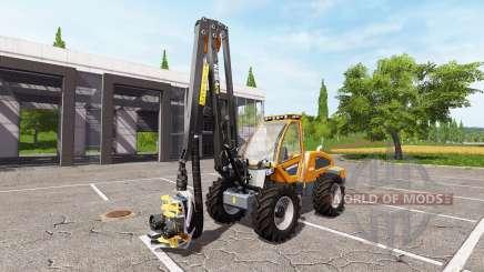 Sampo Rosenlew HR46X full cranecontrols v1.1 para Farming Simulator 2017