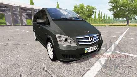 Mercedes-Benz Viano v0.8 para Farming Simulator 2017
