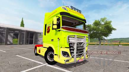DAF XF Super Space Cab tuning para Farming Simulator 2017