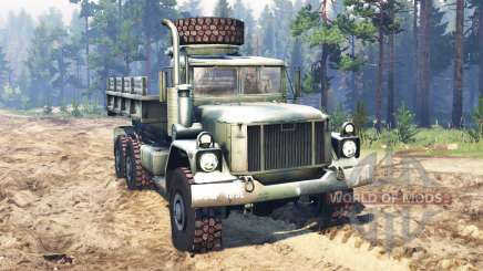 AM General M35A3 1993 para Spin Tires