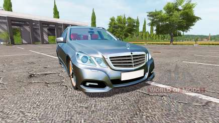 Mercedes-Benz E350 Estate (S212) para Farming Simulator 2017