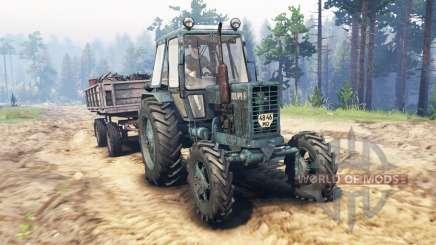 MTZ-82 para Spin Tires