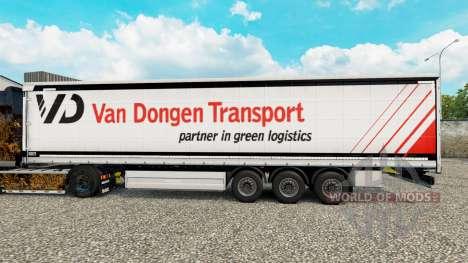 Pele Van Dongen de Transporte de semi-reboque co para Euro Truck Simulator 2