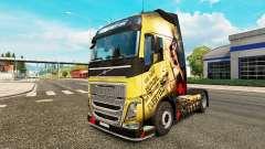Pele Esparta para a Volvo caminhões para Euro Truck Simulator 2
