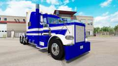 Скин Quinta Roda Transporte на Peterbilt 389 para American Truck Simulator