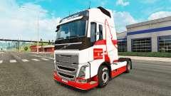 Wolfsburg pele para a Volvo caminhões para Euro Truck Simulator 2