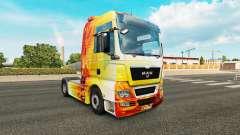 Chama pele para HOMEM caminhão para Euro Truck Simulator 2