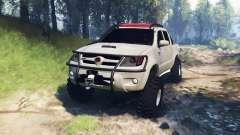 Toyota Hilux 2013 v3.0 para Spin Tires